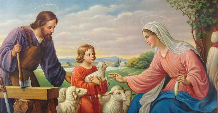 Oración de la Sagrada Familia (de Nazaret), esbiblia
