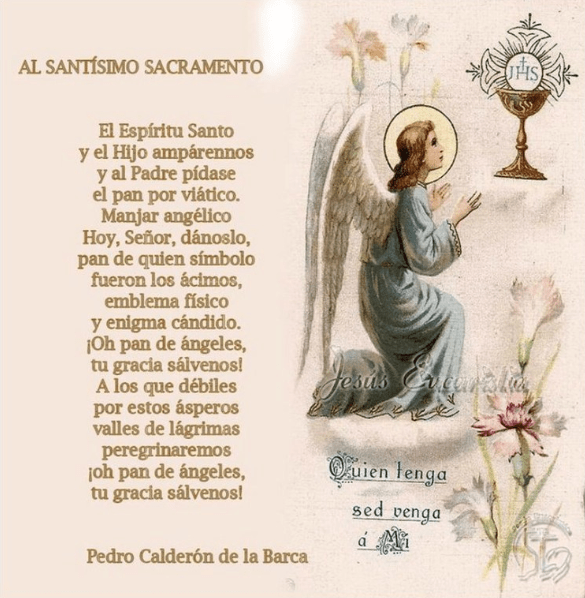 Oración al Santísimo, esbiblia