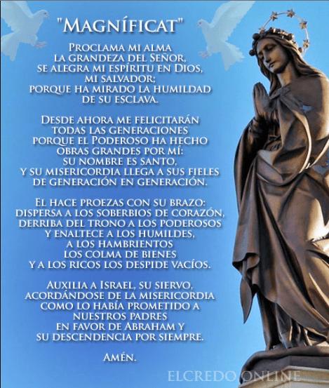 Oración La Magnífica o Magnificat, esbiblia