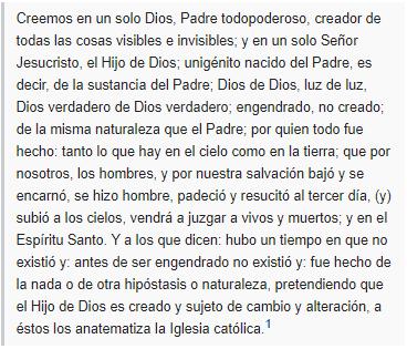10 Oraciones al Credo Católico, esbiblia