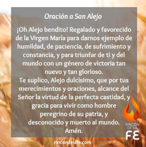Oración a San Alejo, esbiblia