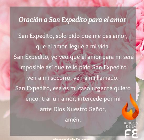 Oración a San Expédito, esbiblia