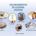 ¿Cuáles son los 7 sacramentos?