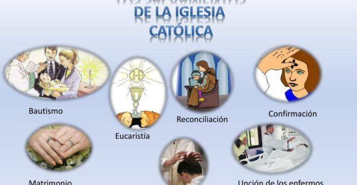 ¿Cuáles son los 7 sacramentos?, esbiblia