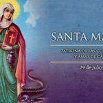 Oración a Santa Marta para los martes de Devoción