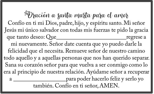 Oración a Santa Marta para los martes de Devoción, esbiblia