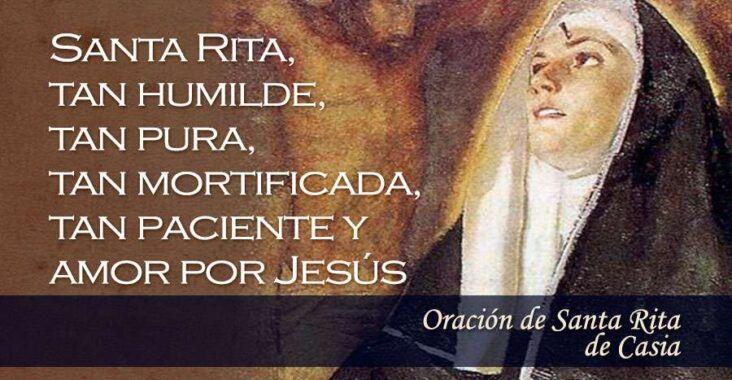 Oración a Santa Rita, esbiblia
