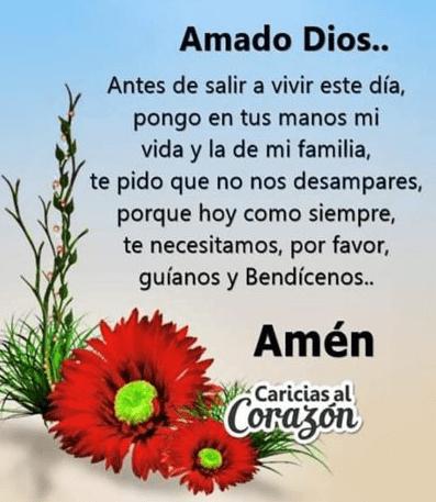 Oración para iniciar el día, esbiblia