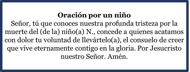 Oraciones para pedir por los difuntos, esbiblia